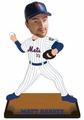 """Matt Harvey (New York Mets) 2015 MLB Real Jersey 10"""" Bobble Heads Forever Collectibles"""