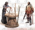Morgan with Impaled Walker & Spike Trap Deluxe Box Set The Walking Dead TV McFarlane