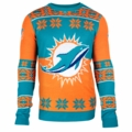 Miami Dolphins Big Logo NFL Ugly Sweater