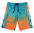 Miami Dolphins Gradient NFL Board Shorts
