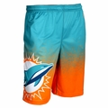 Miami Dolphins NFL 2016 Gradient Polyester Shorts By Forever Collectibles