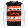 Miami Marlins MLB Ugly Sweater Wordmark