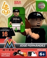 Miami Marlins OYO Minifigures