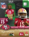 Michael Crabtree (San Francisco 49ers) NFL OYO G2 Sportstoys Minifigures