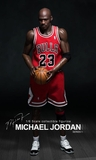 "Michael Jordan (Chicago Bulls) Series 1 #23 Road Red Jersey w/MVP Trophy 1/6th Scale 13"" Action Figure Enterbay"