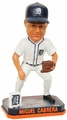 Miguel Cabrera (Detroit Tigers) Forever Collectibles 2014 MLB Springy Logo Base Bobblehead