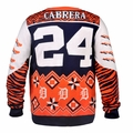 Miguel Cabrera (Detroit Tigers) MLB Ugly Player Sweater