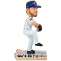 Mike Montgomery (Chicago Cubs) 2016 World Series Champions Newspaper Base Bobble Head by Forever Collectibles