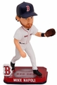 Mike Napoli (Boston Red Sox) Forever Collectibles 2014 MLB Springy Logo Base Bobblehead