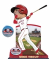 Mike Trout (Los Angeles Angels) 2015 MLB Stadium Dirt Bobble Heads Forever Collectibles