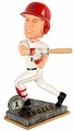 Mike Trout (Los Angeles Angels) 2015 Springy Logo Action Bobble Head Forever Collectibles