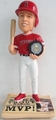 Mike Trout (Los Angeles Angels) 2014 American League MVP Award Winner Bobblehead #/1000 Forever Collectibles