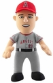 "Mike Trout (Los Angeles Angels - Road Jersey) 10"" MLB Player Plush Bleacher Creatures"