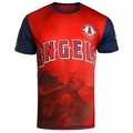 Mike Trout (Los Angeles Angels) Watermark MLB Player Tee