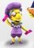 "Milhouse (The Simpsons 25th Anniversary) 5"" Action Figure Series 3 NECA"