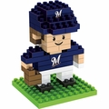 "Milwaukee Brewers MLB 3D 2"" Player BRXLZ Puzzle By Forever Collectibles"