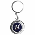 Milwaukee Brewers MLB Spinner Keychain