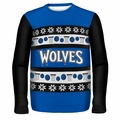 Minnesota Timberwolves NBA Ugly Sweater Busy Block