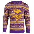 Minnesota Vikings 2016 Aztec NFL Ugly Crew Neck Sweater by Forever Collectibles