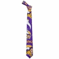Minnesota Vikings NFL Ugly Tie Repeat Logo by Forever Collectibles