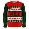 Minnesota Wild One NHL Ugly Sweater Wordmark