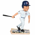 Miquel Montero (Chicago Cubs) 2016 World Series Champions Newspaper Base Bobble Head by Forever Collectibles