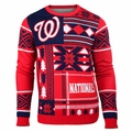 MLB Patches Crew Neck Ugly Sweaters by Klew