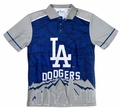 MLB Polyester Short Sleeve Thematic Polo Shirts by Forever Collectibles
