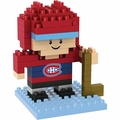 Montreal Canadiens NHL 3D Player BRXLZ Puzzle By Forever Collectibles