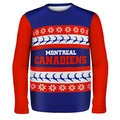 Montreal Canadiens NHL Ugly Sweater Wordmark