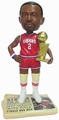 Moses Malone (Philadelphia 76ers) MVP/Champ Newspaper Base NBA Legends Bobble Head