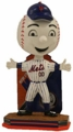 Mr. Met (New York Mets) Mascot 2016 MLB Name and Number Bobble Head Forever Collectibles