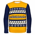 Nashville Predators NHL Ugly Sweater Wordmark