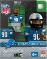 Ndamukong Suh (Detroit Lions) NFL OYO G2 Sportstoys Minifigures
