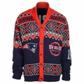 New England Patriots NFL Ugly Sweater Cardigan