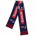 New England Patriots 2016 NFL Big Logo Scarf By Forever Collectibles