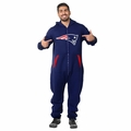 New England Patriots Adult One-Piece NFL Klew Suit