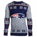 New England Patriots Big Logo NFL Ugly Sweater