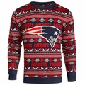 New England Patriots NFL 2016 Aztec Ugly Crew Neck Sweaters by Forever Collectibles