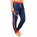 New England Patriots NFL Poly Fleece Women's Jogger Pant by Klew