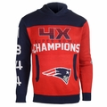 New England Patriots NFL Super Bowl Commemorative Hoody