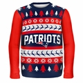 New England Patriots NFL Ugly Sweater Wordmark
