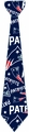 New England Patriots NFL Ugly Tie Repeat Logo by Forever Collectibles