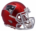 New England Patriots Riddell Blaze Alternate Speed Mini Helmet