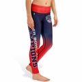 New England Patriots Super Bowl XLIX Champ (Gradient Print) NFL Leggings