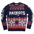 New England Patriots Super Bowl XLIX Champ NFL Ugly Sweater