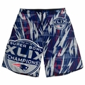 New England Patriots Super Bowl XLIX Champions Big Logo Polyester Shorts