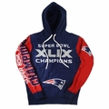 New England Patriots Super Bowl XLIX Champions Pullover Hoodie Sweater
