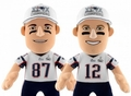 "New England Patriots SUPER BOWL XLIX CHAMPS 10"" Player Plush Bleacher Creatures"