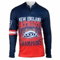New England Patriots Super Bowl XXXIX Champions Poly Hoody Tee